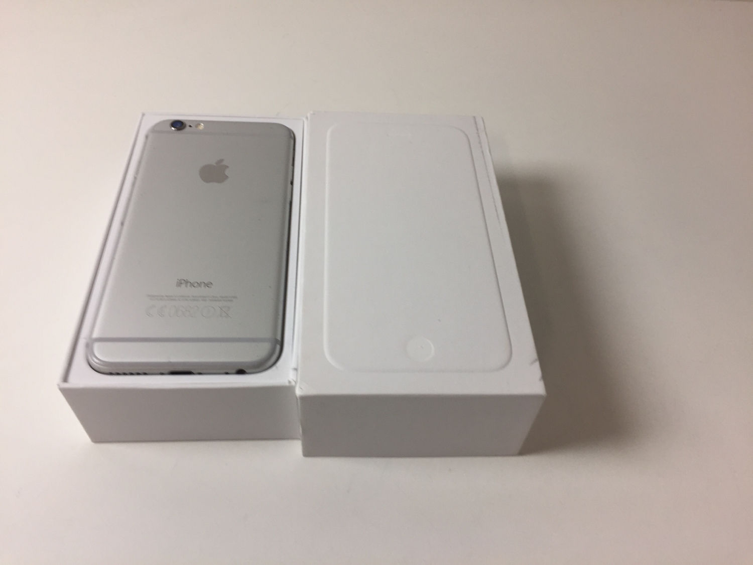 iPhone 6 64GB, 64GB, Silver, bild 2