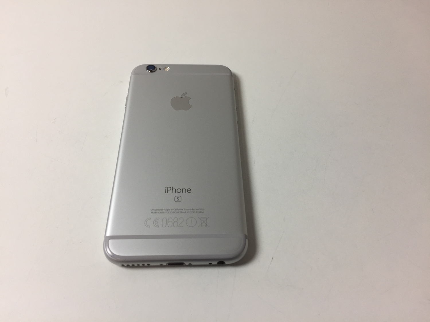 iPhone 6S 128GB, 128GB, Silver, Kuva 2