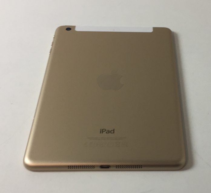 iPad mini 3 Wi-Fi + Cellular 16GB, 16 GB, Gold, Kuva 2