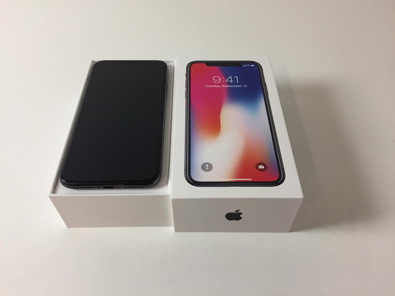 iPhone X 256GB, 256 GB, Space Gray, imagen 1