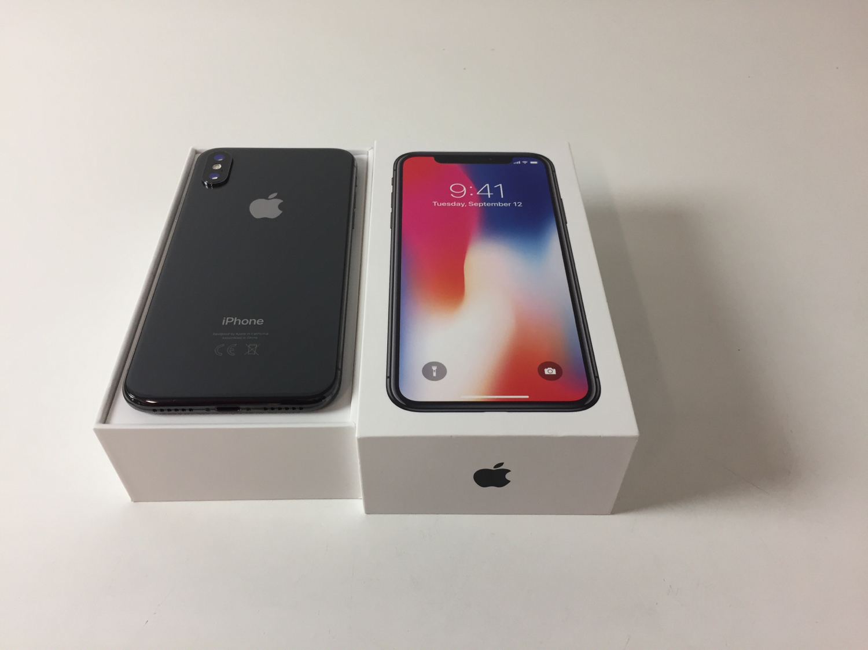 iPhone X 256GB, 256 GB, Space Gray, imagen 2