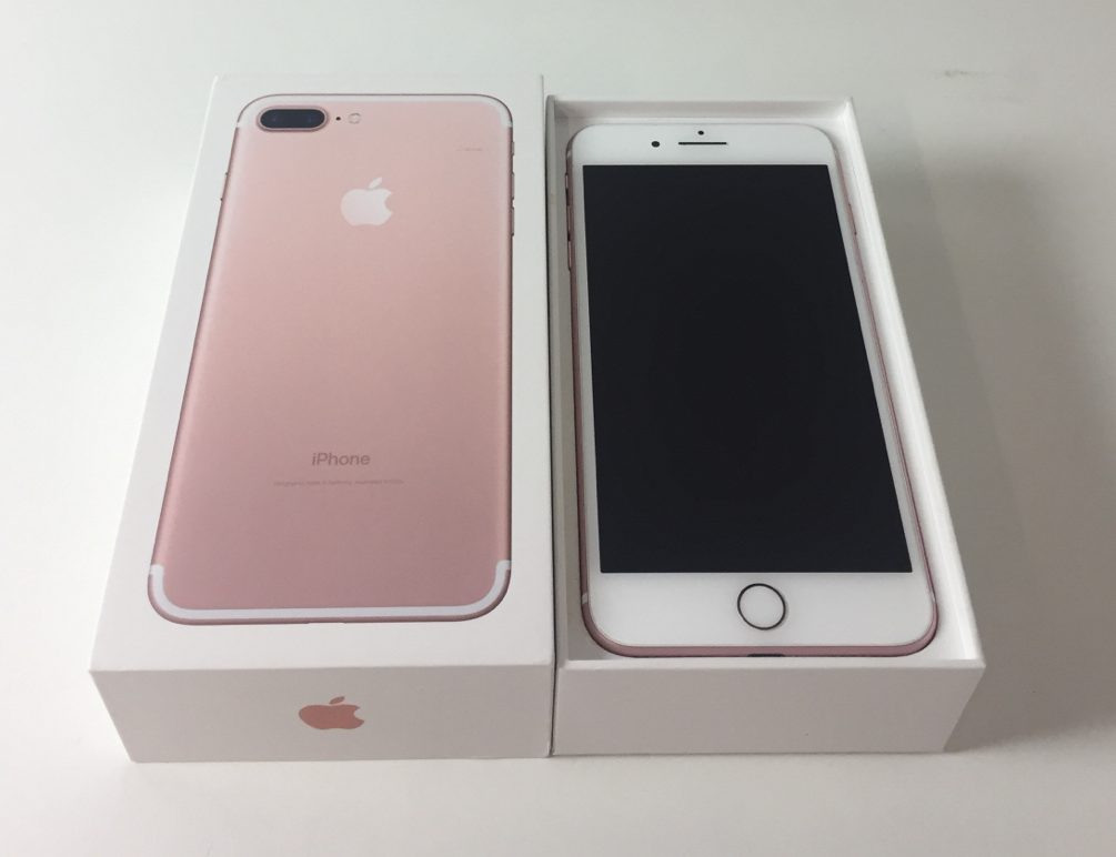iPhone 7 Plus 256GB, 256 GB, Rose Gold, Afbeelding 1