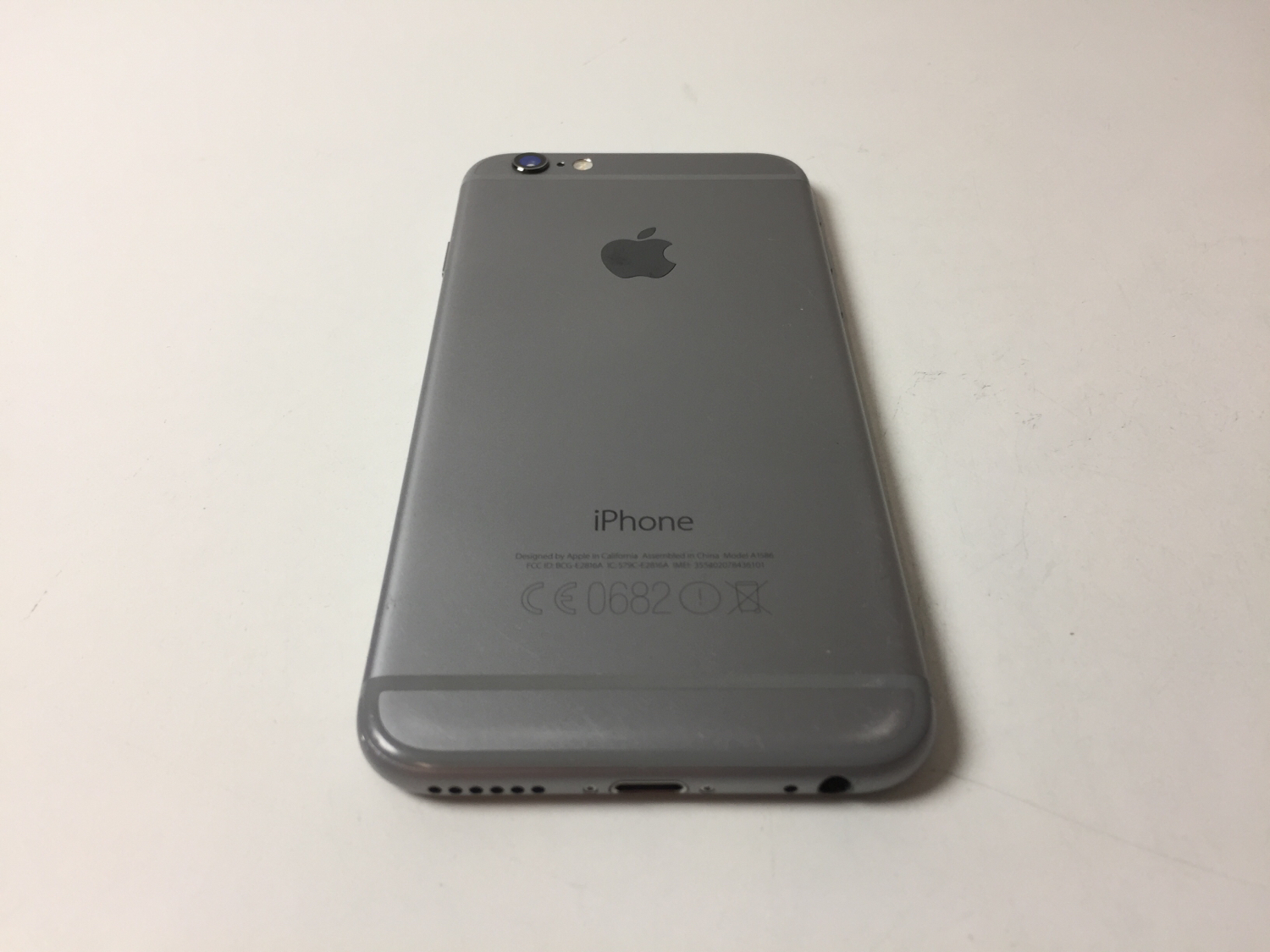 iPhone 6 16GB, 16 GB, SPACE GRAY, bild 2