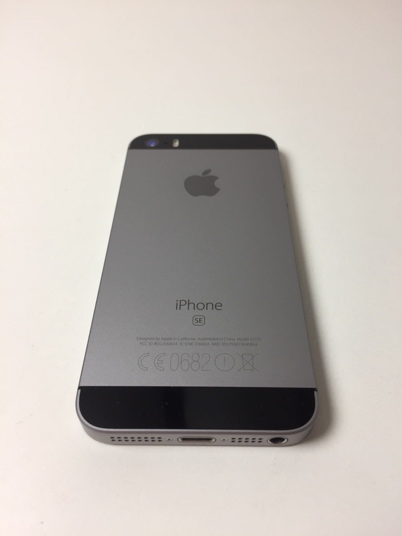 iPhone SE 64GB, 64GB, Space Gray, bild 2