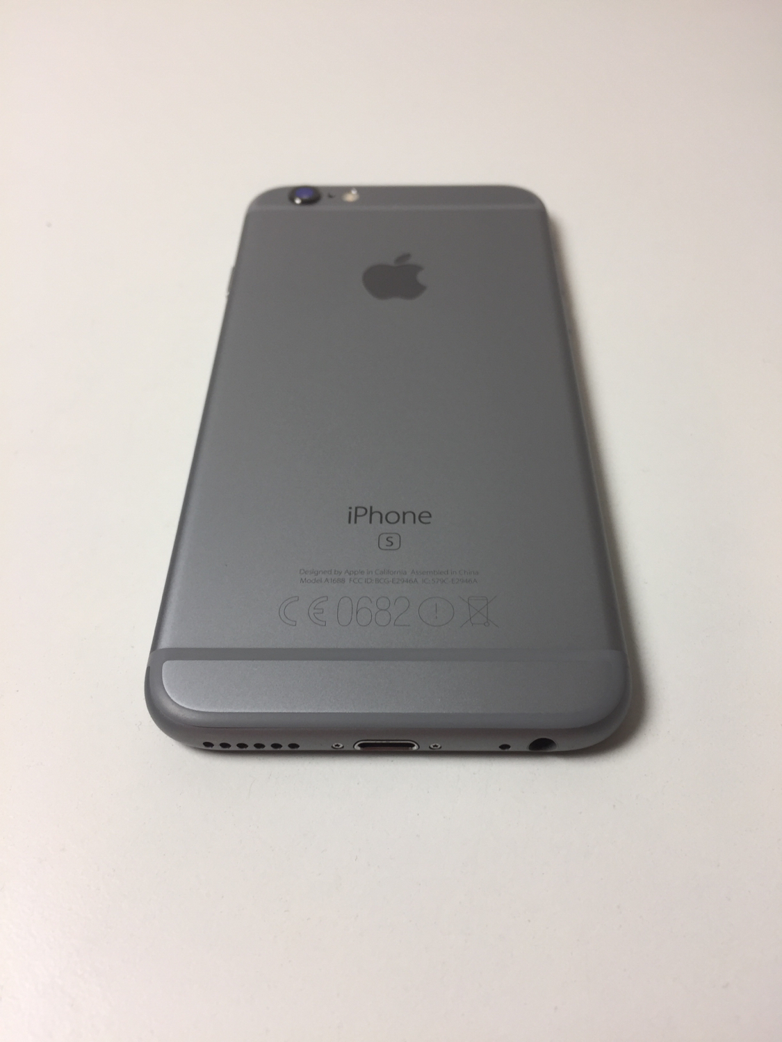 iPhone 6S 64GB, 64GB, Space Gray, Kuva 2