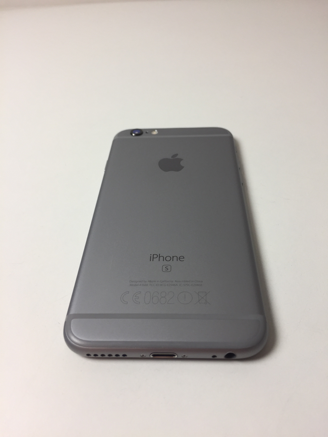 iPhone 6S 16GB, 16GB, Space Gray, bild 2