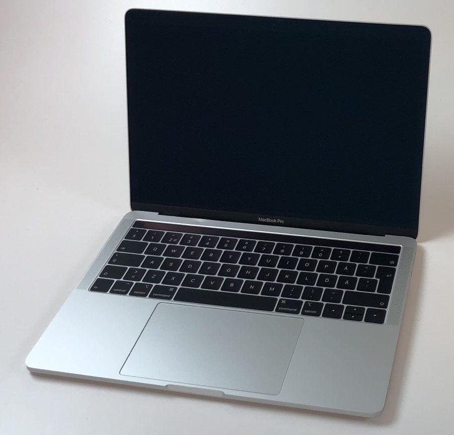 """MacBook Pro 13"""" 4TBT Mid 2018 (Intel Quad-Core i5 2.3 GHz 8 GB RAM 256 GB SSD), Silver, Intel Quad-Core i5 2.3 GHz, 8 GB RAM, 256 GB SSD, Kuva 1"""