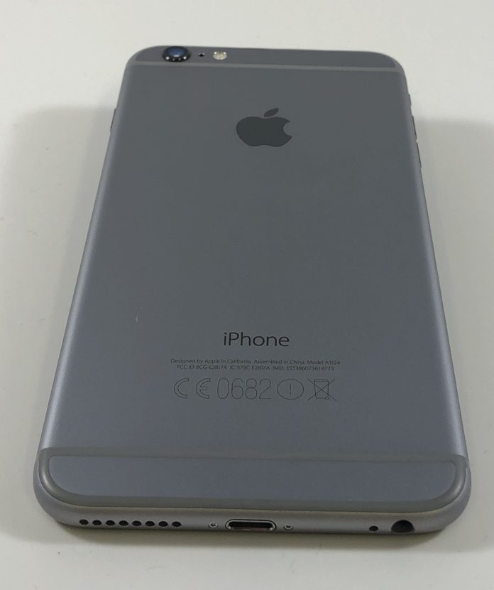 iPhone 6 Plus 64GB, 64GB, Space Gray, Kuva 2