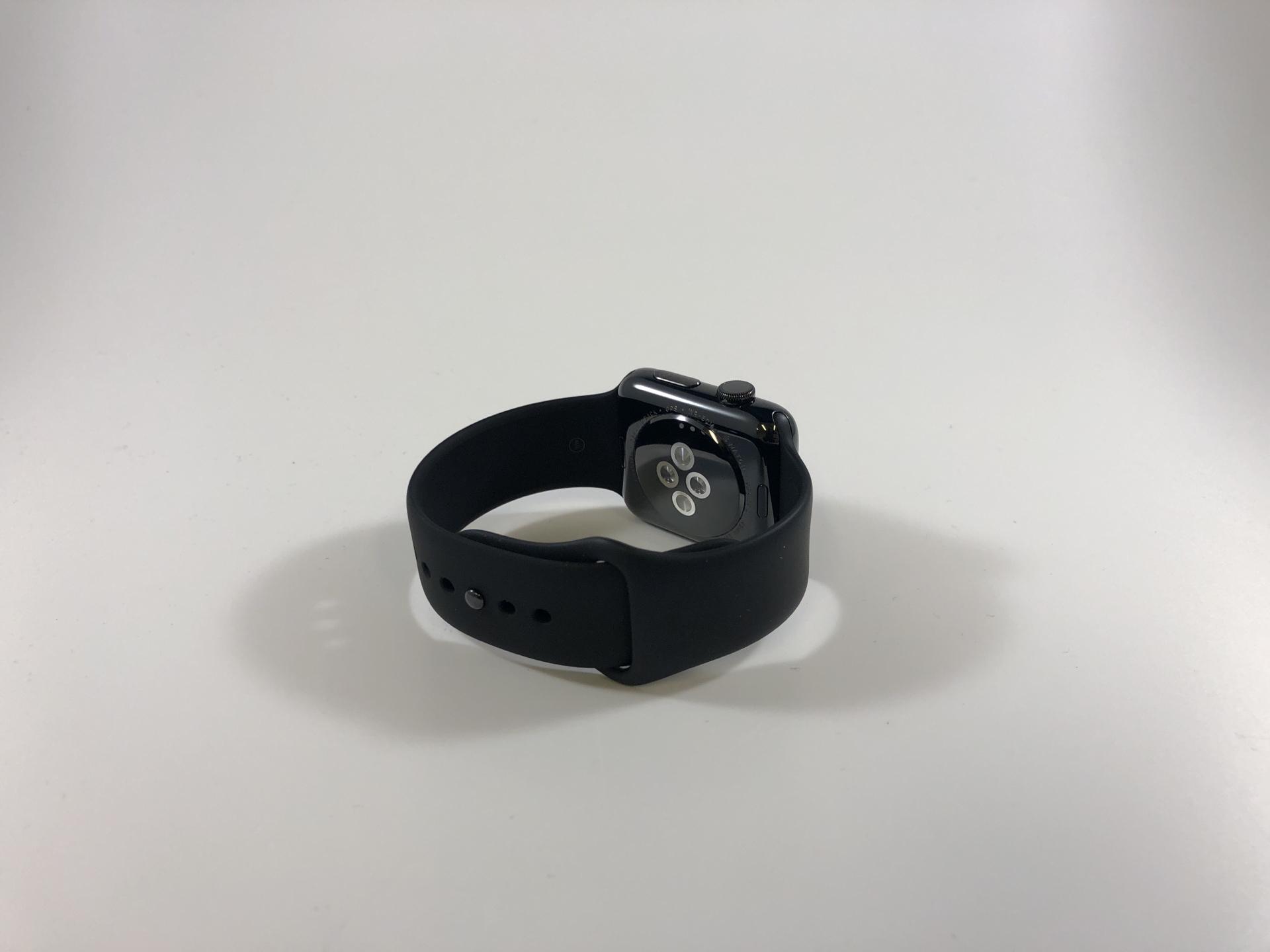 Watch Series 2 Steel (42mm), Space Black Stainless Steel, Black Sport Band, bild 3