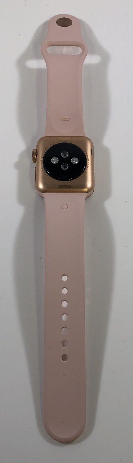 Watch Series 3 Aluminum (38mm), Rose Gold, Pink Sand Sport Band, Kuva 2