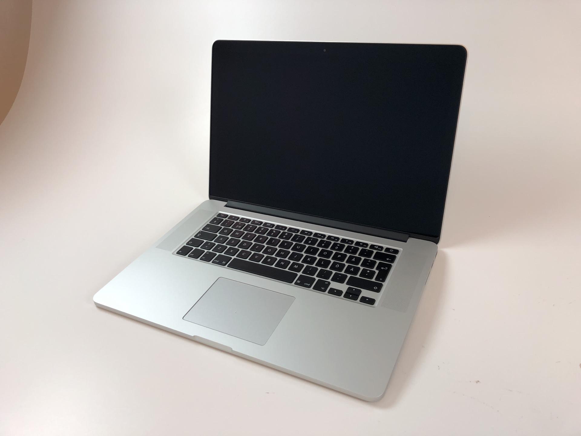 """MacBook Pro Retina 15"""" Mid 2015 (Intel Quad-Core i7 2.2 GHz 16 GB RAM 256 GB SSD), Intel Quad-Core i7 2.2 GHz, 16 GB RAM, 256 GB SSD, Kuva 1"""