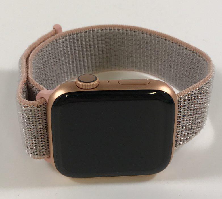 Watch Series 4 Aluminum (44mm), Gold, Pink Sand Sport Loop, imagen 1