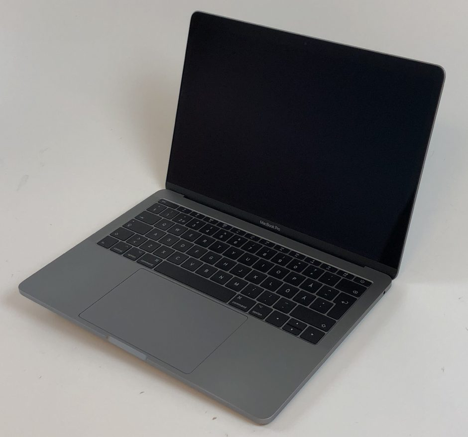 "MacBook Pro 13"" 2TBT Late 2016 (Intel Core i5 2.0 GHz 8 GB RAM 256 GB SSD), Space Gray, Intel Core i5 2.0 GHz, 8 GB RAM, 256 GB SSD, Kuva 1"