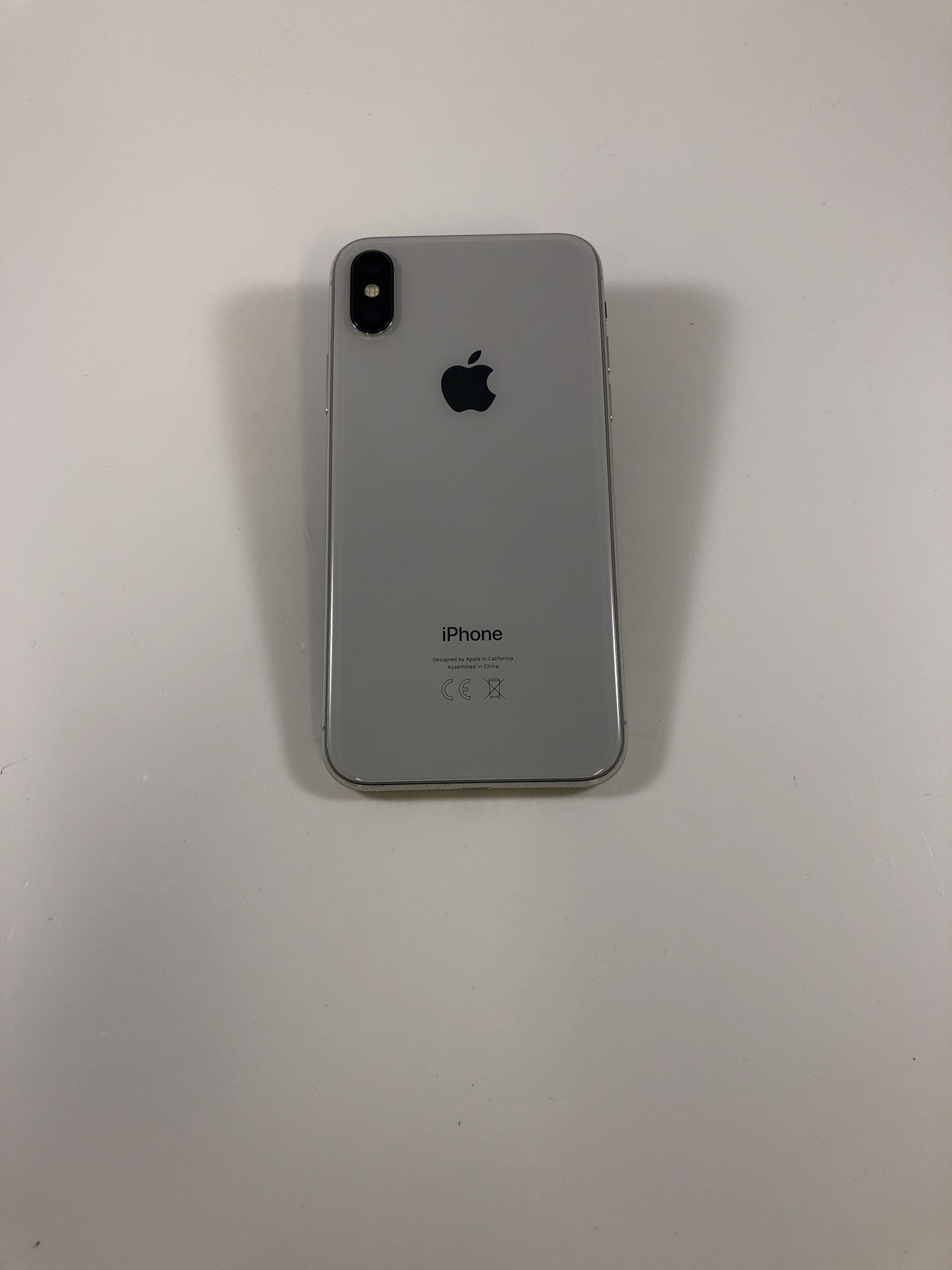 iPhone X 256GB, 256GB, Silver, bild 3