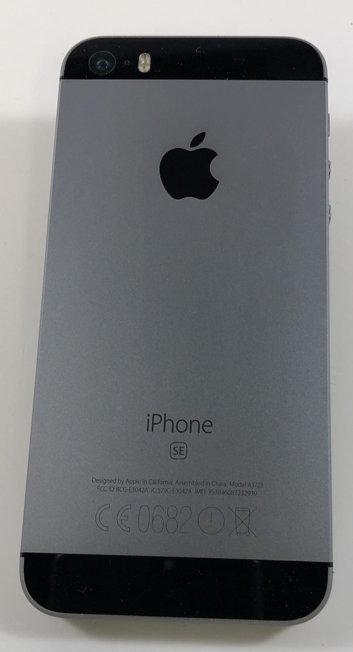 iPhone SE 32GB, 32GB, Space Gray, obraz 2