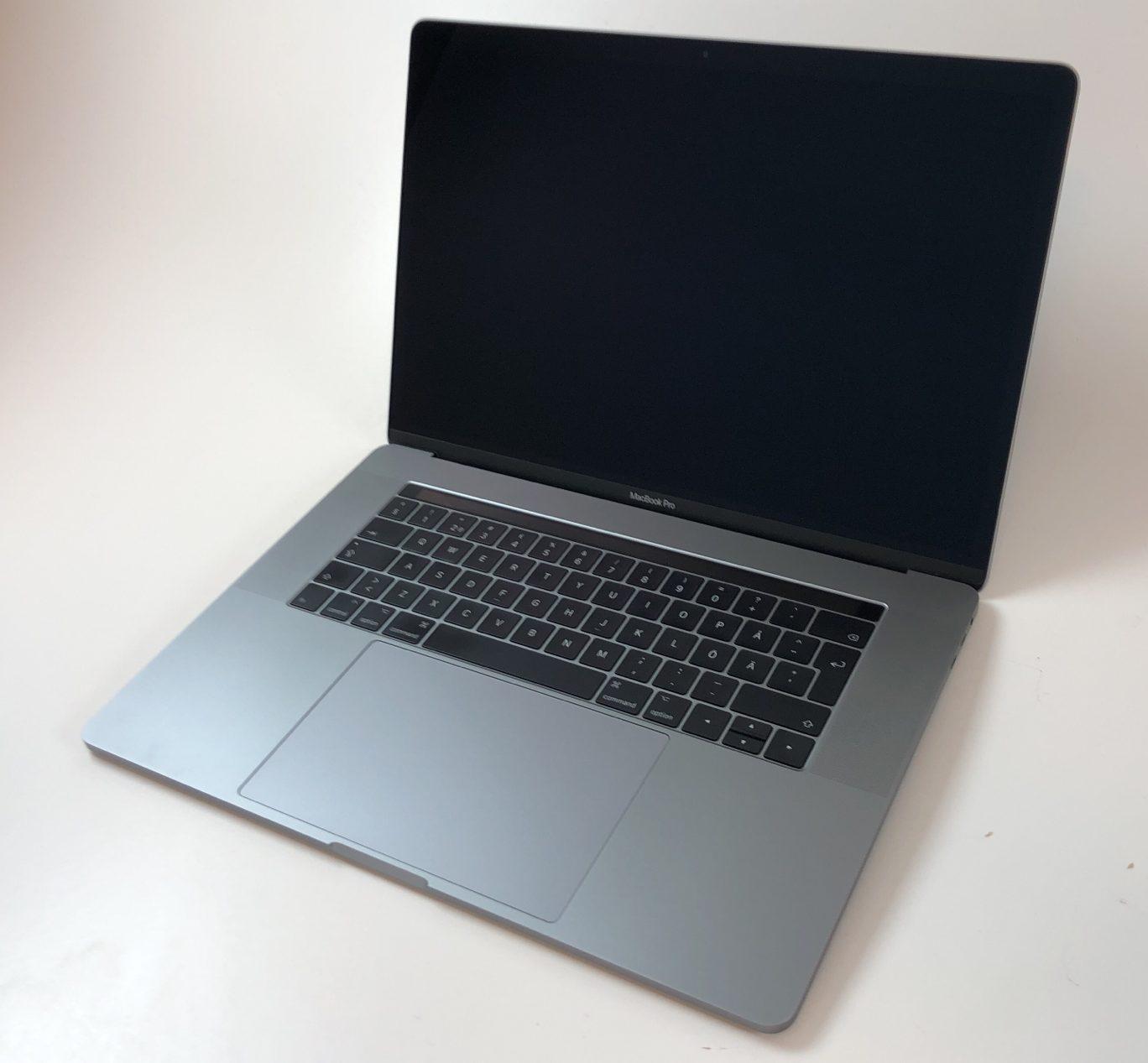 """MacBook Pro 15"""" Touch Bar Mid 2017 (Intel Quad-Core i7 2.8 GHz 16 GB RAM 256 GB SSD), Space Gray, Intel Quad-Core i7 2.8 GHz, 16 GB RAM, 256 GB SSD, Kuva 1"""