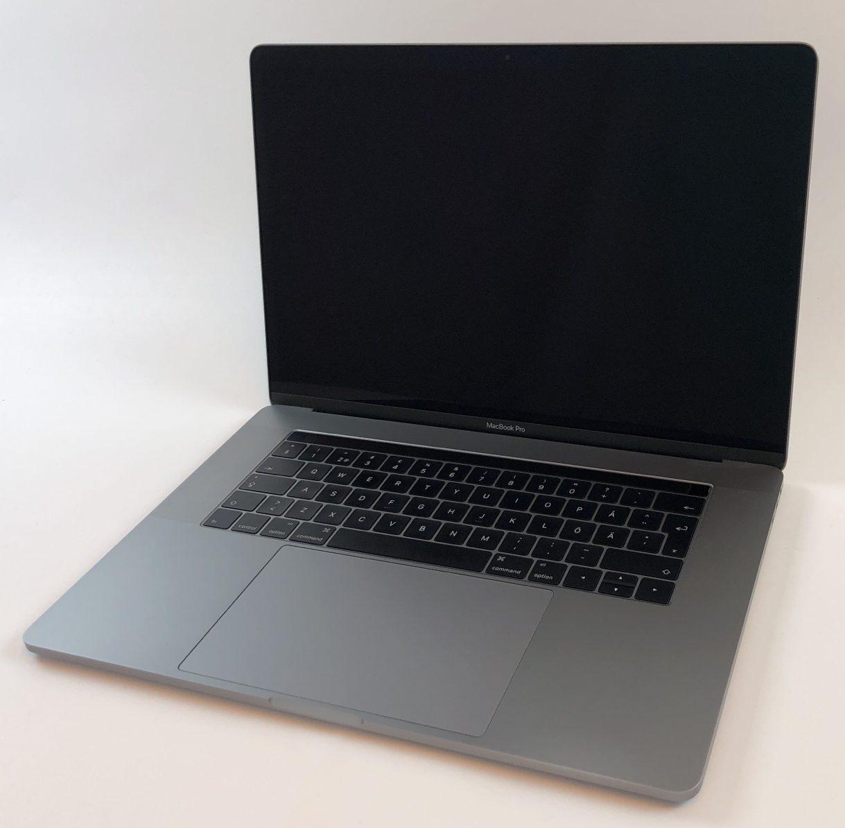 "MacBook Pro 15"" Touch Bar Late 2016 (Intel Quad-Core i7 2.7 GHz 16 GB RAM 512 GB SSD), Space Gray, Intel Quad-Core i7 2.7 GHz, 16 GB RAM, 512 GB SSD, Kuva 1"