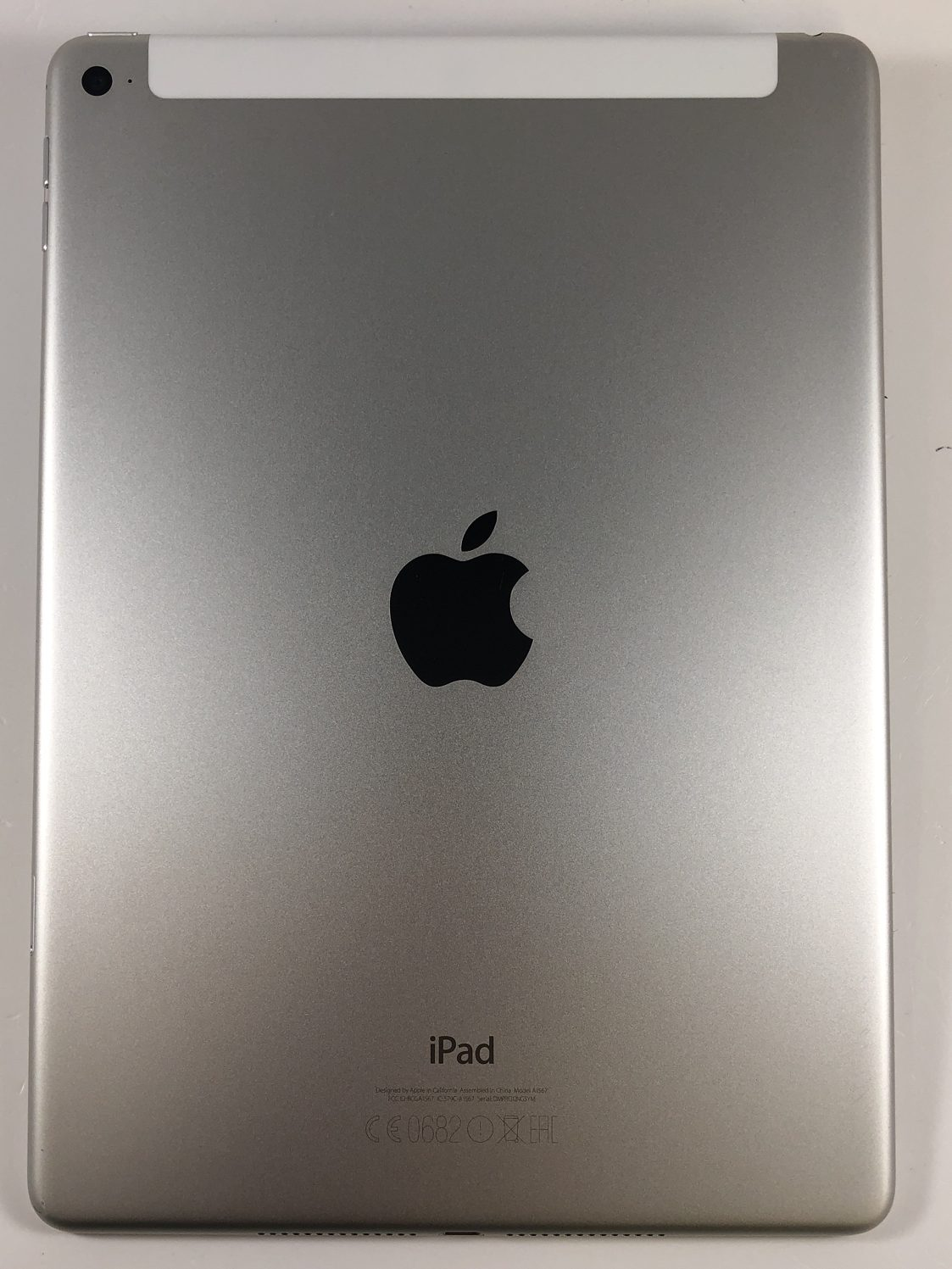 iPad Air 2 Wi-Fi + Cellular 64GB, 32GB, Silver, imagen 2