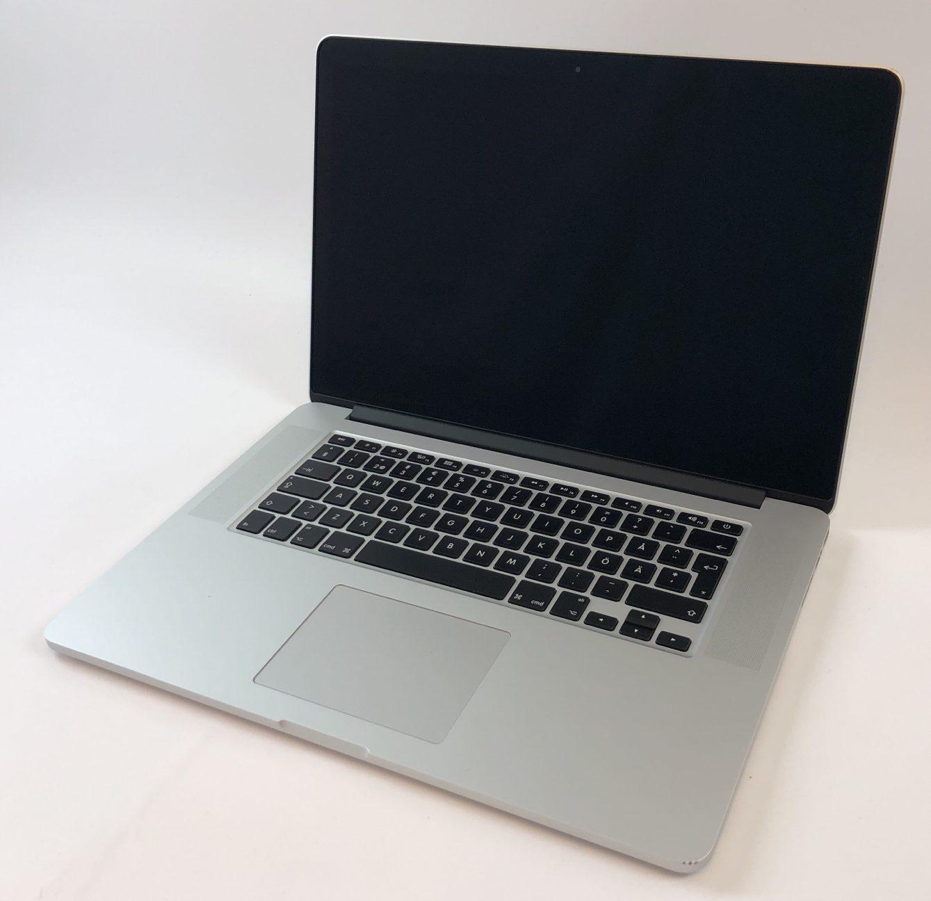 """MacBook Pro Retina 15"""" Mid 2015 (Intel Quad-Core i7 2.8 GHz 16 GB RAM 256 GB SSD), Intel Quad-Core i7 2.8 GHz, 16 GB RAM, 256 GB SSD, Kuva 1"""