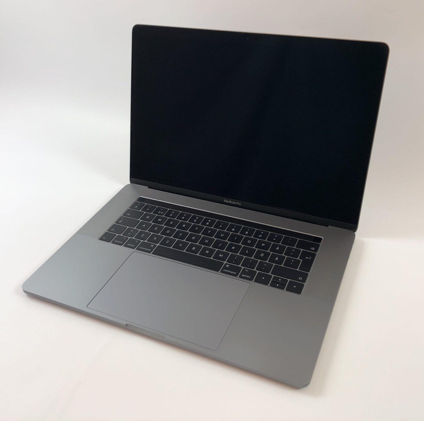 """MacBook Pro 15"""" Touch Bar Mid 2017 (Intel Quad-Core i7 2.9 GHz 16 GB RAM 512 GB SSD), Space Gray, Intel Quad-Core i7 2.9 GHz, 16 GB RAM, 512 GB SSD, Kuva 1"""