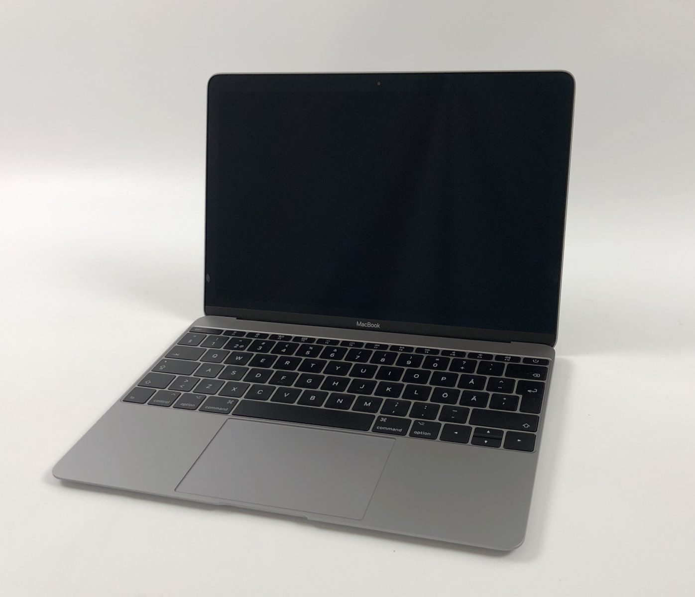 "MacBook 12"" Mid 2017 (Intel Core m3 1.2 GHz 8 GB RAM 256 GB SSD), Space Gray, Intel Core m3 1.2 GHz, 8 GB RAM, 256 GB SSD, Kuva 1"