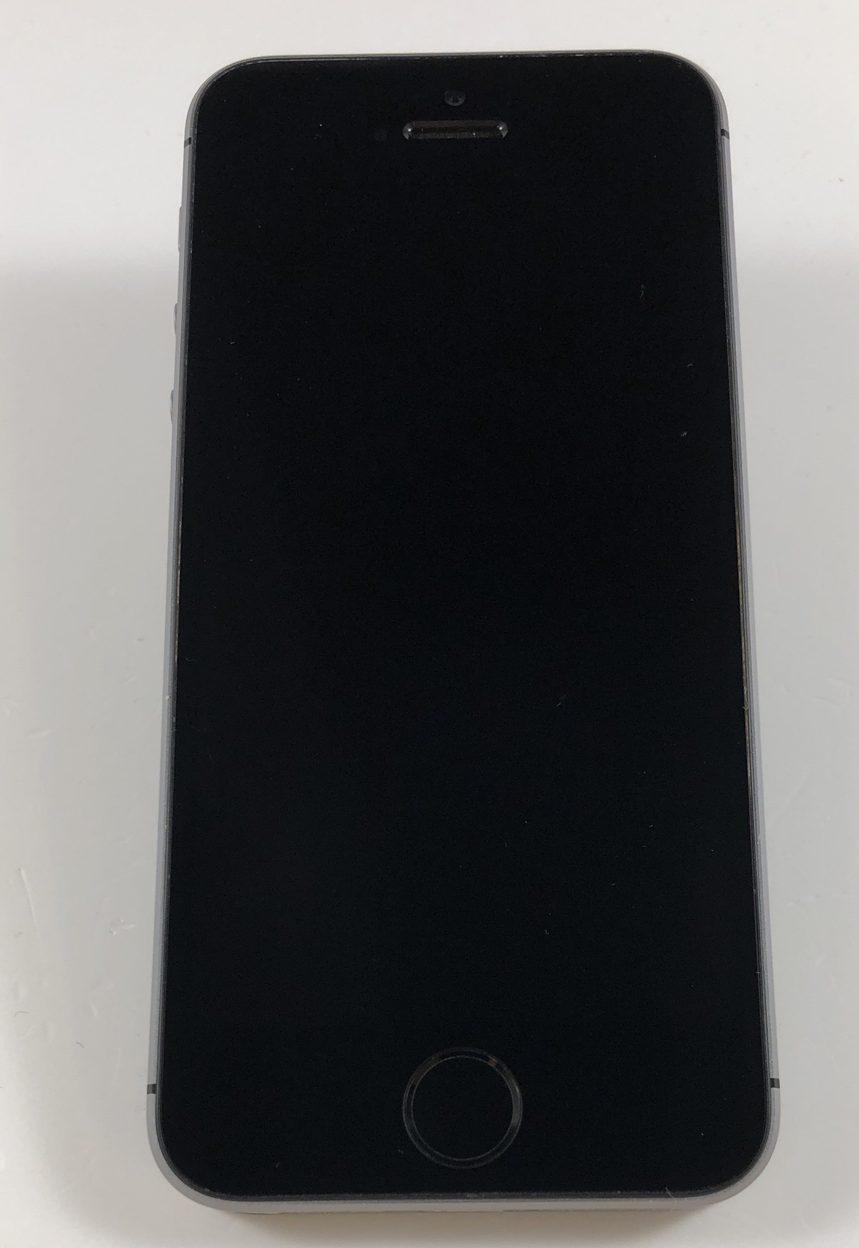 iPhone SE 128GB, 128GB, Space Gray, Kuva 1