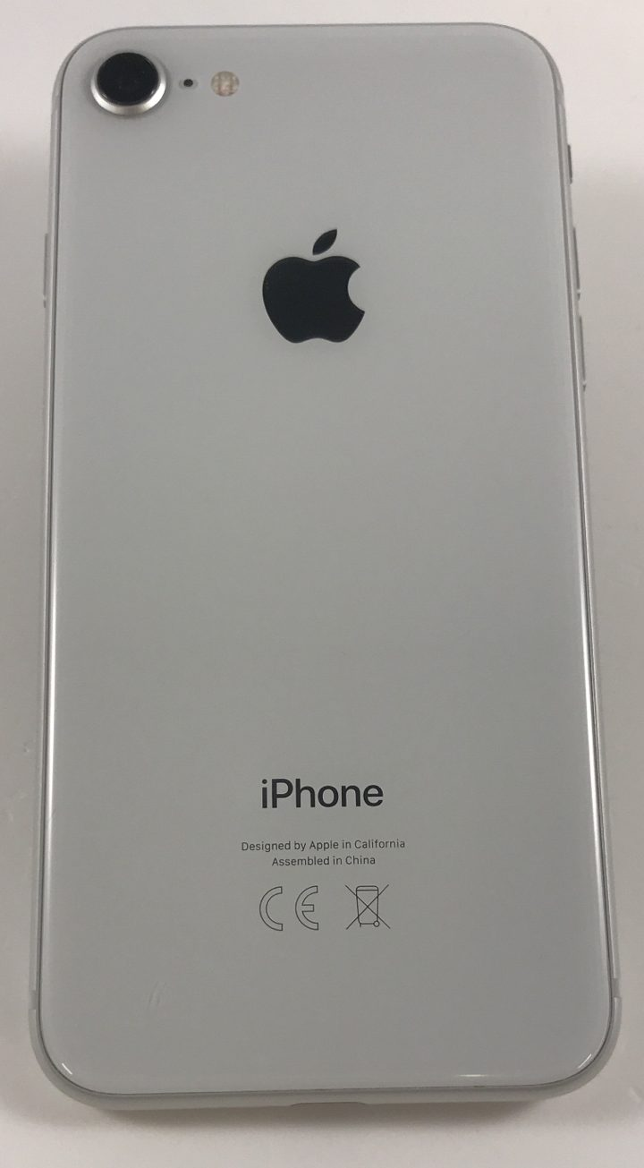 iPhone 8 256GB, 256GB, Silver, Kuva 2