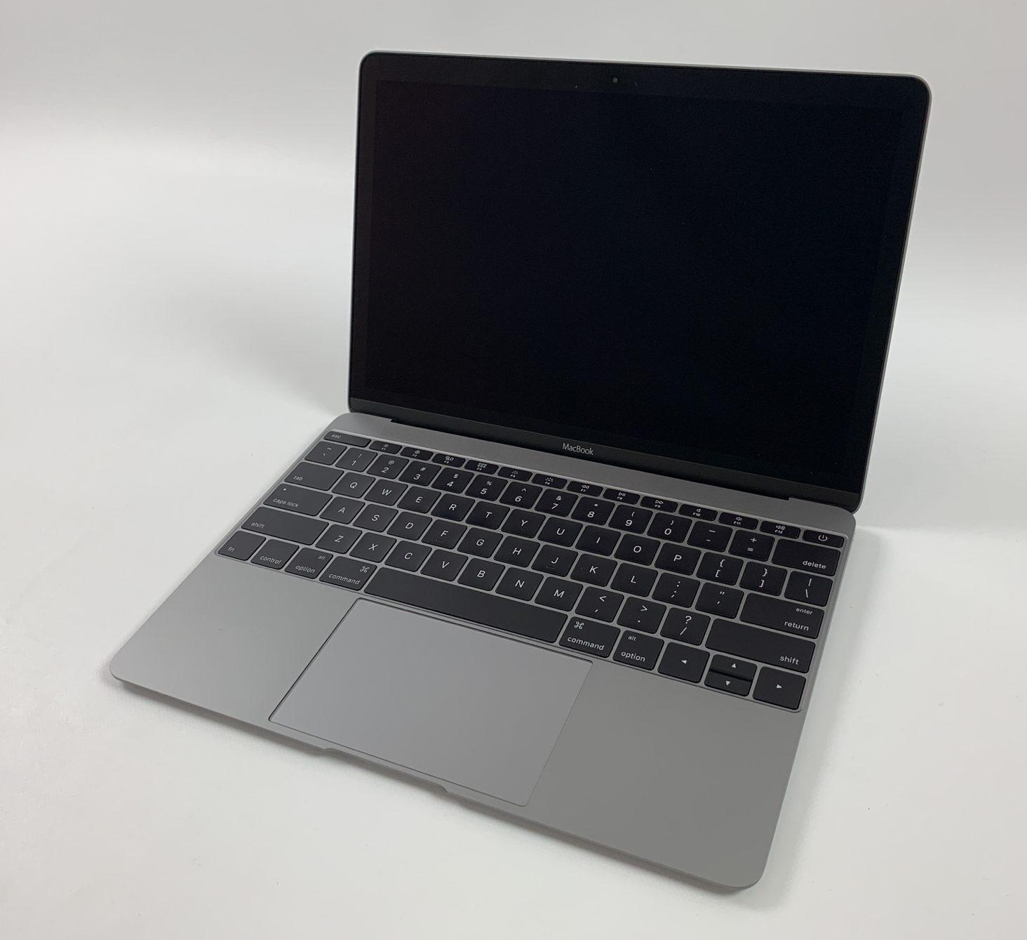 "MacBook 12"" Early 2015 (Intel Core M 1.1 GHz 8 GB RAM 256 GB SSD), Space Gray, Intel Core M 1.1 GHz, 8 GB RAM, 256 GB SSD, bild 1"