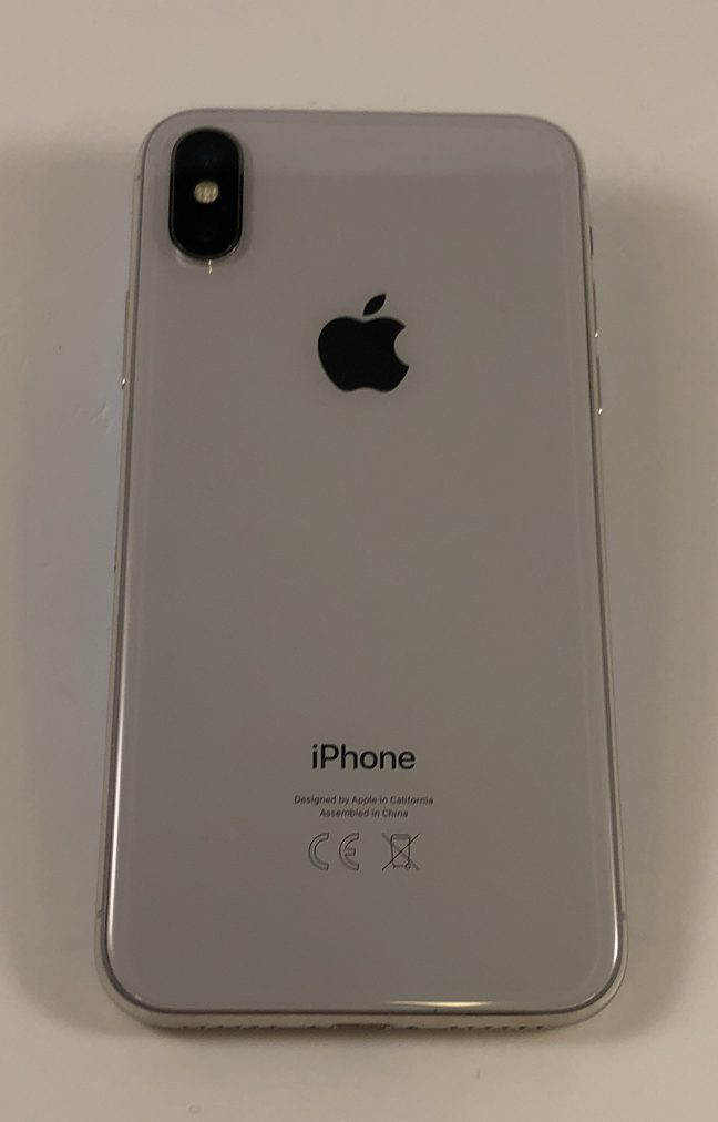 iPhone X 64GB, 64GB, Silver, bild 2