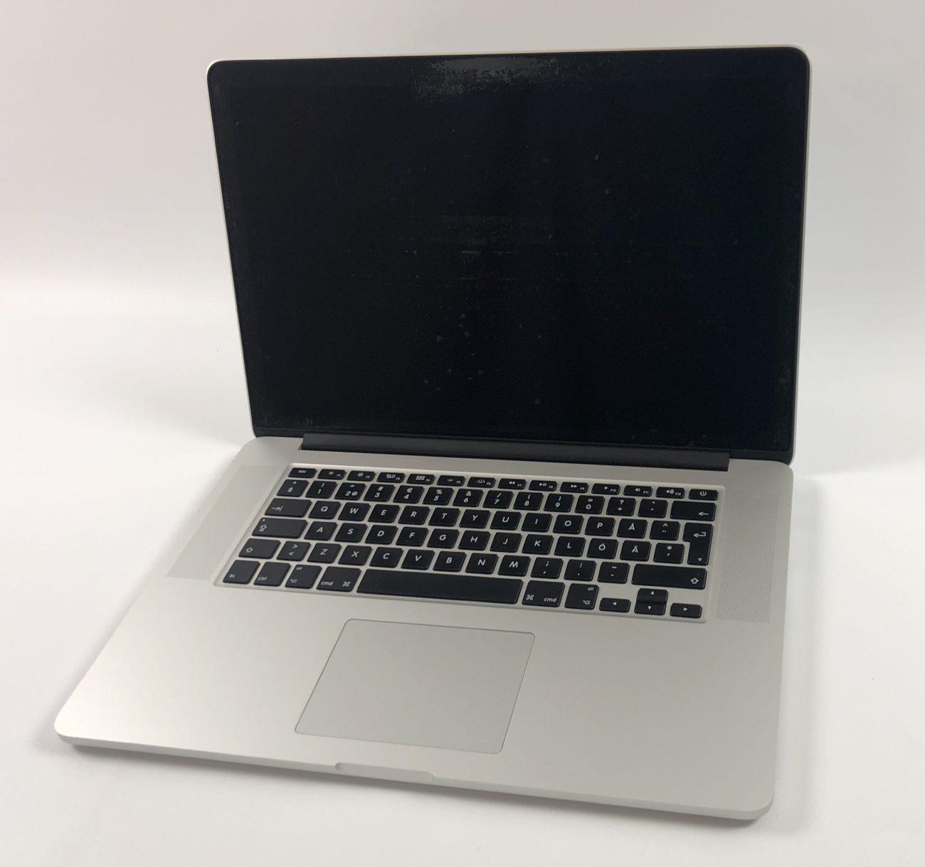 """MacBook Pro Retina 15"""" Mid 2014 (Intel Quad-Core i7 2.8 GHz 16 GB RAM 512 GB SSD), Intel Quad-Core i7 2.8 GHz, 16 GB RAM, 512 GB SSD, Kuva 1"""