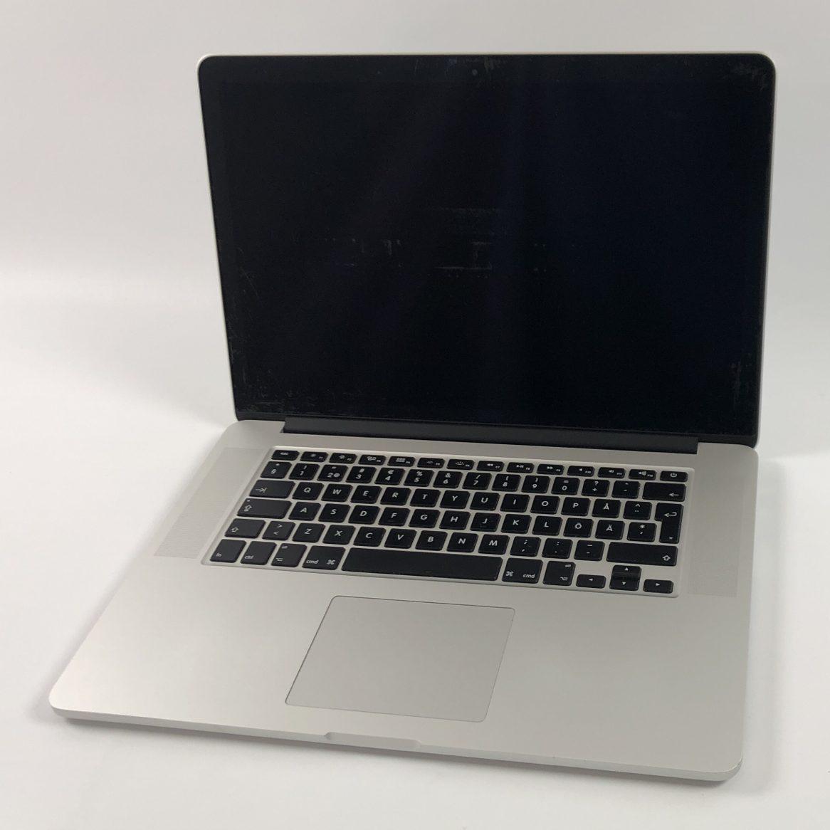 """MacBook Pro Retina 15"""" Mid 2014 (Intel Quad-Core i7 2.5 GHz 16 GB RAM 512 GB SSD), Intel Quad-Core i7 2.5 GHz, 16 GB RAM, 512 GB SSD, Kuva 1"""