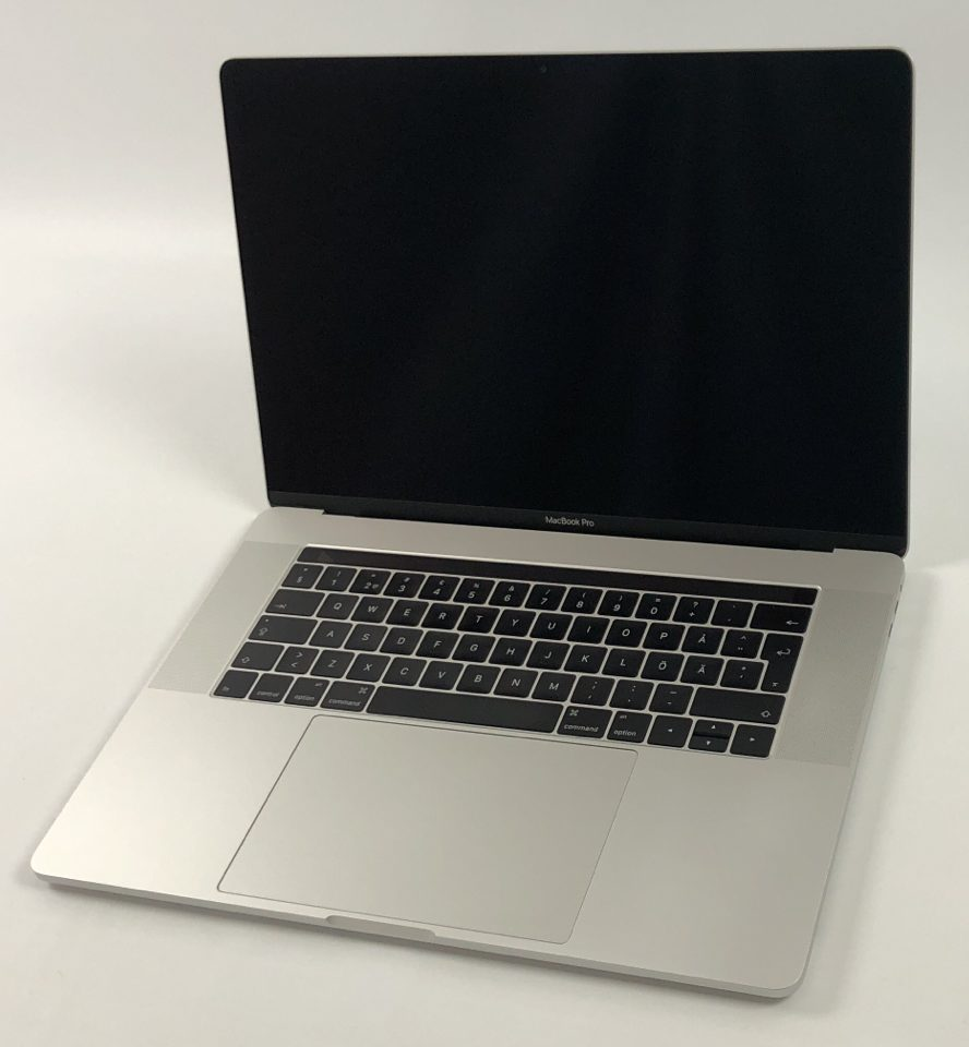 "MacBook Pro 15"" Touch Bar Late 2016 (Intel Quad-Core i7 2.6 GHz 16 GB RAM 256 GB SSD), Silver, Intel Quad-Core i7 2.6 GHz, 16 GB RAM, 256 GB SSD, Kuva 1"