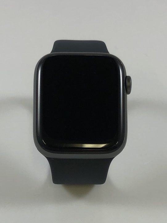 Watch Series 4 Aluminum (44mm), Space Gray, Black Sport Loop, Kuva 1