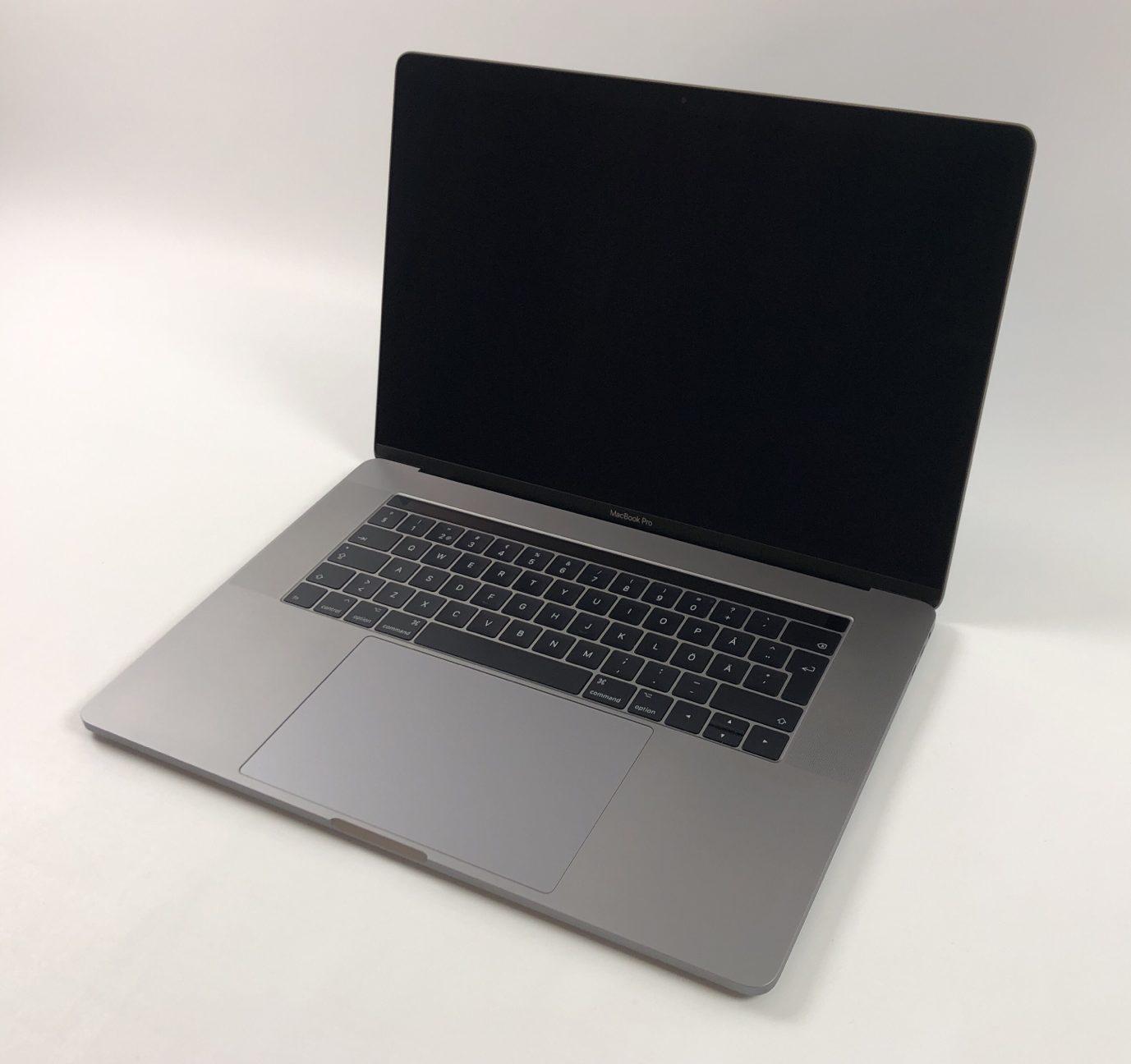 """MacBook Pro 15"""" Touch Bar Mid 2017 (Intel Quad-Core i7 3.1 GHz 16 GB RAM 1 TB SSD), Space Gray, Intel Quad-Core i7 3.1 GHz, 16 GB RAM, 1 TB SSD, Kuva 1"""