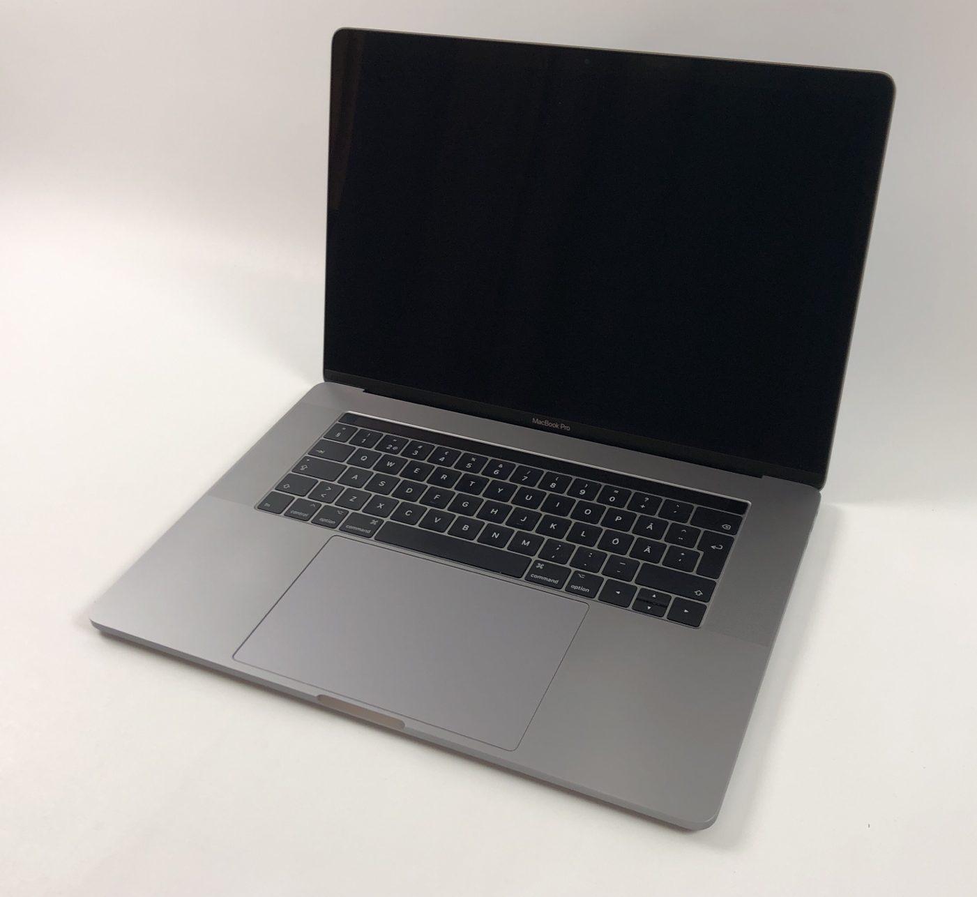 """MacBook Pro 15"""" Touch Bar Mid 2017 (Intel Quad-Core i7 2.8 GHz 16 GB RAM 512 GB SSD), Space Gray, Intel Quad-Core i7 2.9 GHz, 16 GB RAM, 512 GB SSD, Kuva 1"""