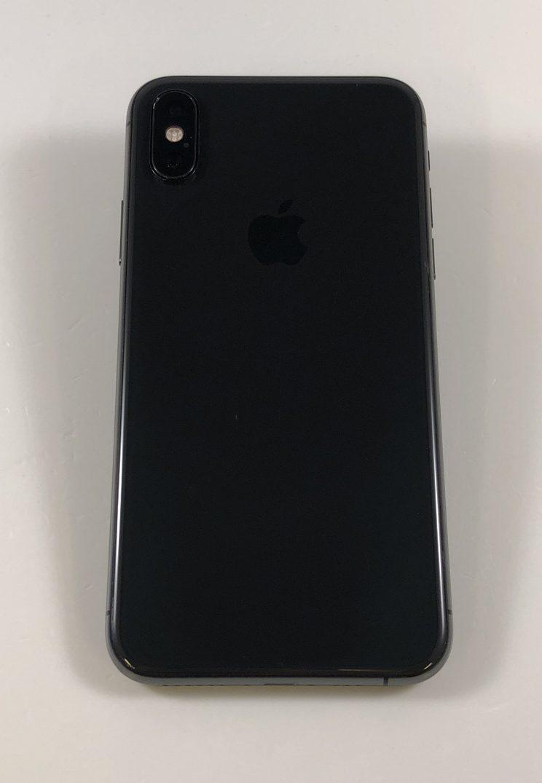 iPhone X 64GB, 64GB, Space Gray, bild 2