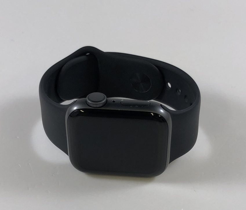 Watch Series 4 Aluminum (40mm), Space Gray, Black Sport Band, image 1