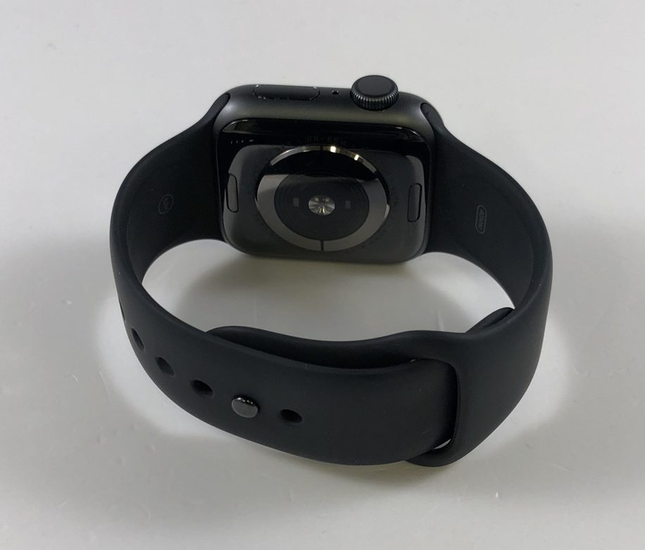 Watch Series 4 Aluminum (40mm), Space Gray, Black Sport Band, image 2