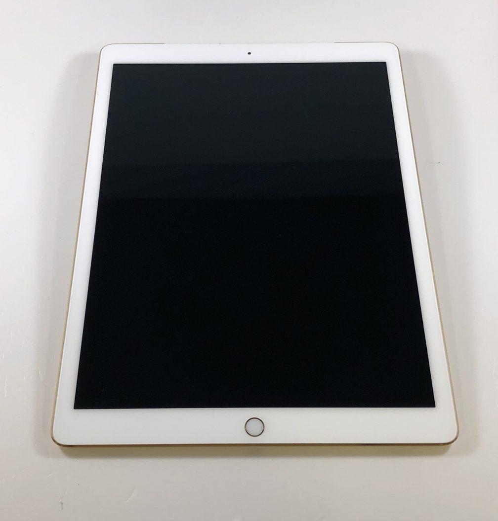 """iPad Pro 12.9"""" Wi-Fi + Cellular (1st Gen) 128GB, 128GB, Gold, image 1"""