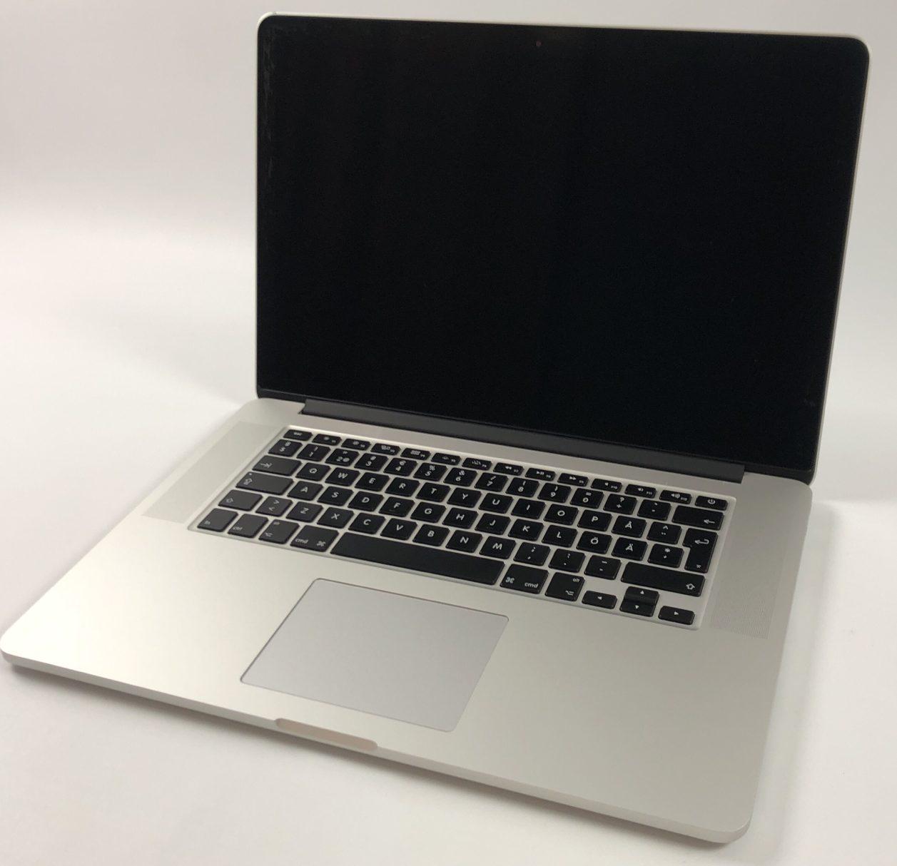"""MacBook Pro Retina 15"""" Mid 2015 (Intel Quad-Core i7 2.5 GHz 16 GB RAM 512 GB SSD), Intel Quad-Core i7 2.8 GHz, 16 GB RAM, 512 GB SSD, Bild 1"""