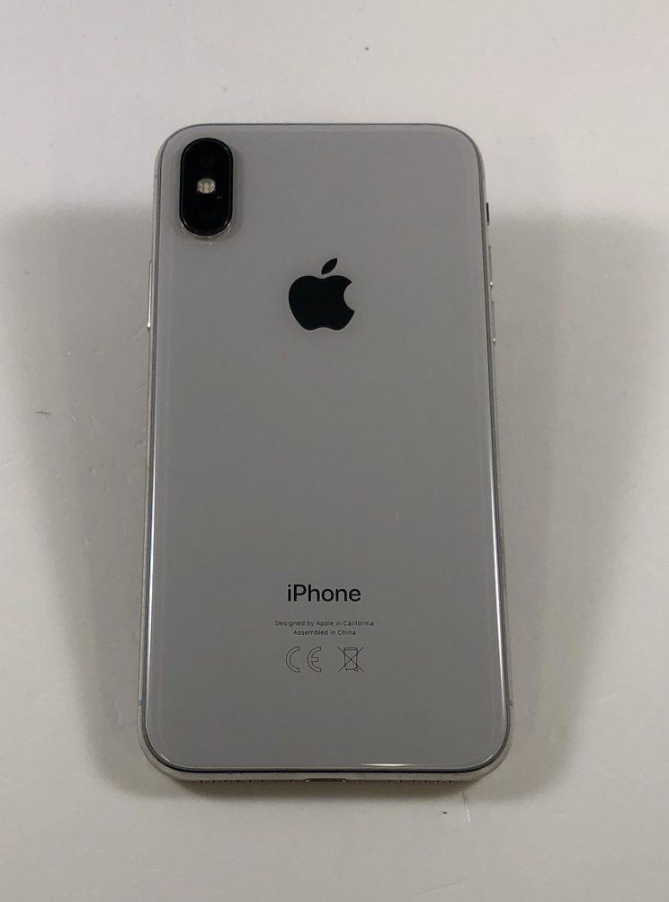 iPhone X 64GB, 64GB, Silver, image 2