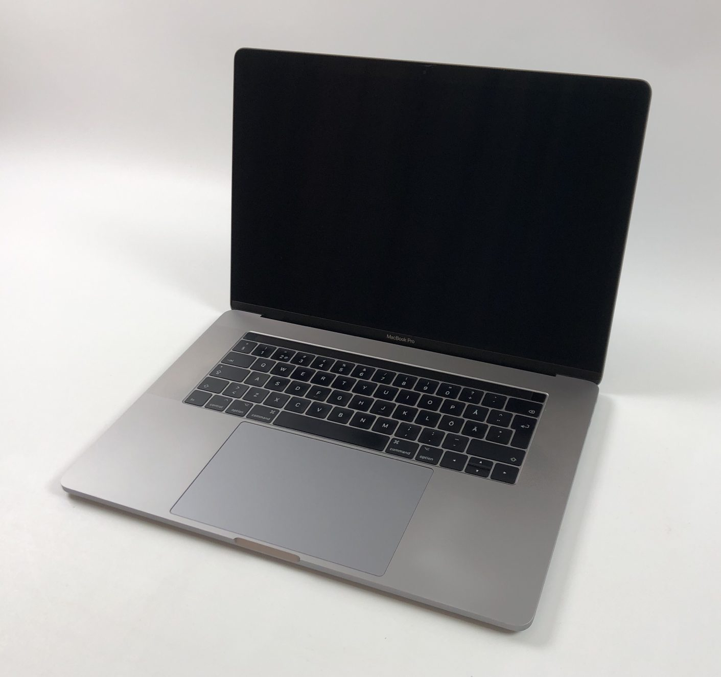 "MacBook Pro 15"" Touch Bar Mid 2017 (Intel Quad-Core i7 2.9 GHz 16 GB RAM 512 GB SSD), Space Gray, Intel Quad-Core i7 2.9 GHz, 16 GB RAM, 512 GB SSD, Bild 1"