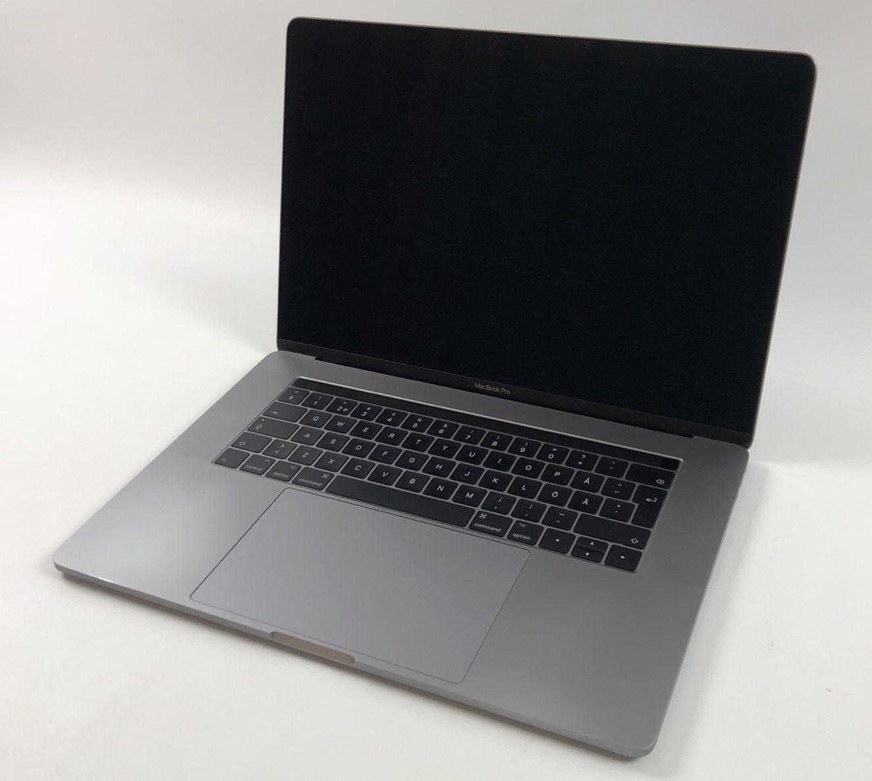 "MacBook Pro 15"" Touch Bar Late 2016 (Intel Quad-Core i7 2.7 GHz 16 GB RAM 512 GB SSD), Space Gray, Intel Quad-Core i7 2.7 GHz, 16 GB RAM, 512 GB SSD, immagine 1"