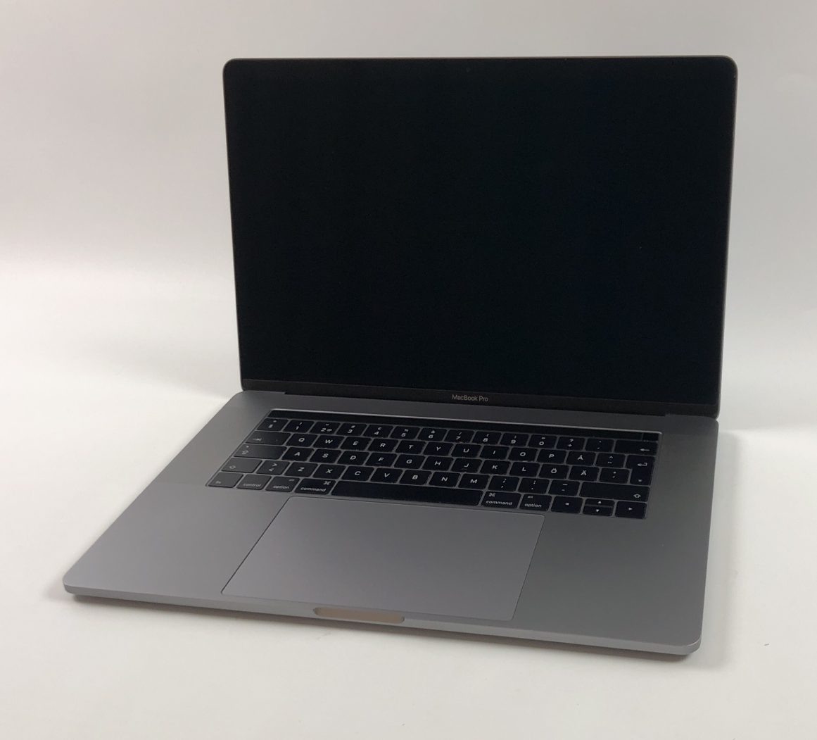 "MacBook Pro 15"" Touch Bar Late 2016 (Intel Quad-Core i7 2.6 GHz 16 GB RAM 256 GB SSD), Space Gray, Intel Quad-Core i7 2.6 GHz, 16 GB RAM, 256 GB SSD, Bild 1"