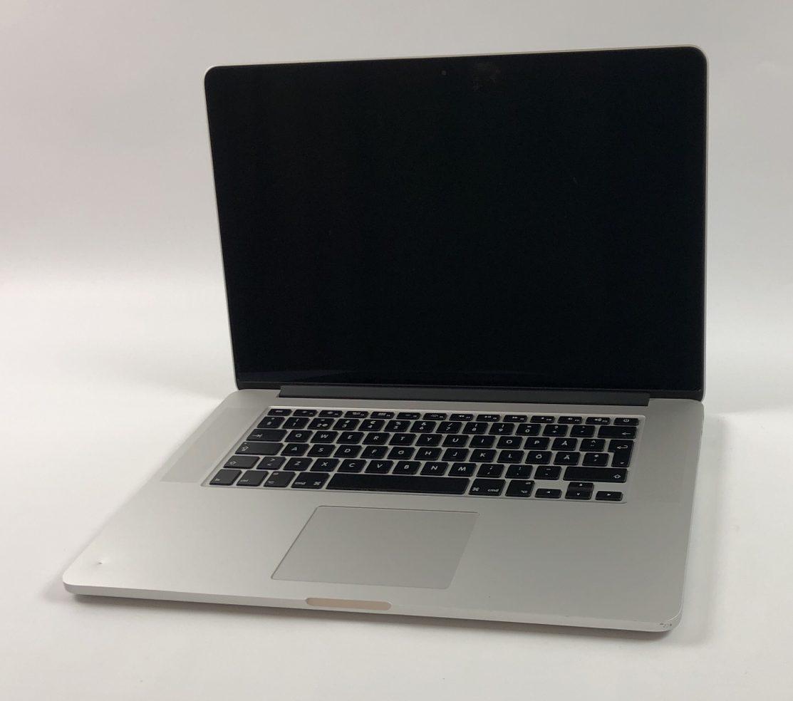 """MacBook Pro Retina 15"""" Mid 2015 (Intel Quad-Core i7 2.5 GHz 16 GB RAM 512 GB SSD), Intel Quad-Core i7 2.5 GHz, 16 GB RAM, 512 GB SSD, obraz 1"""