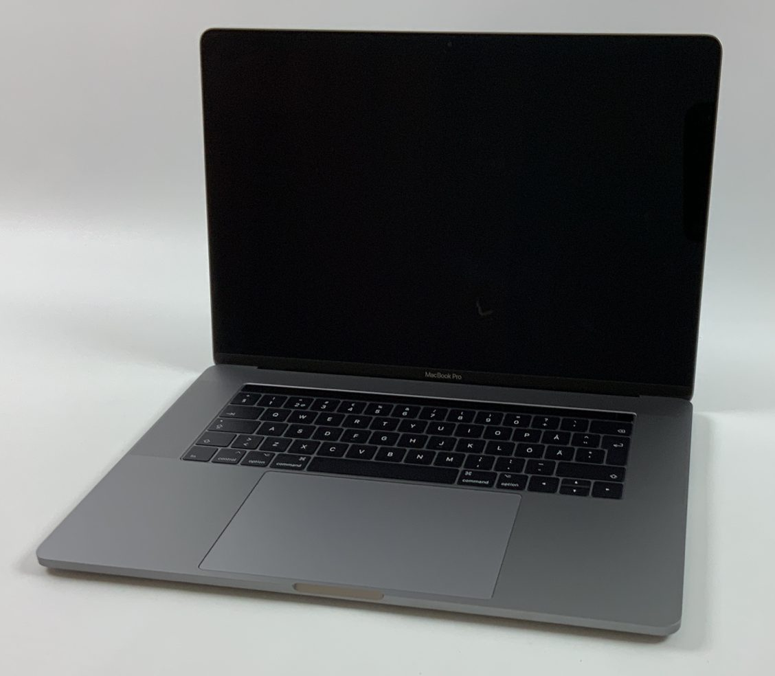 "MacBook Pro 15"" Touch Bar Late 2016 (Intel Quad-Core i7 2.7 GHz 16 GB RAM 512 GB SSD), Space Gray, Intel Quad-Core i7 2.7 GHz, 16 GB RAM, 512 GB SSD, image 2"