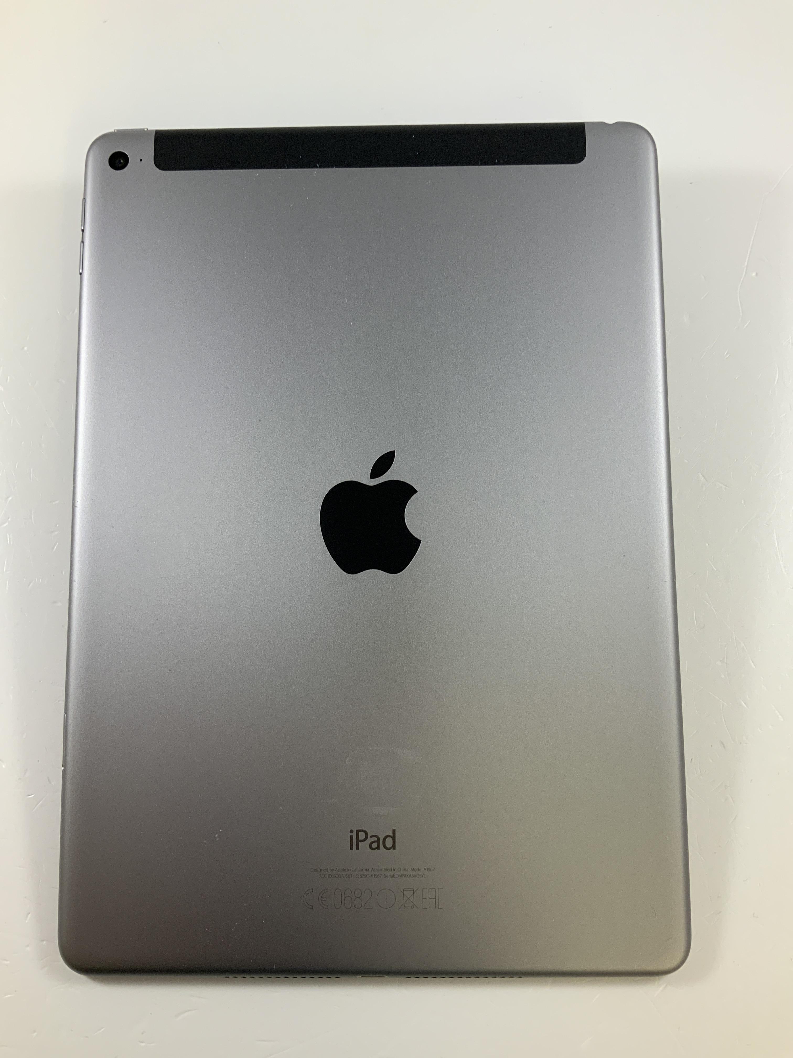 iPad Air 2 Wi-Fi + Cellular 64GB, 64GB, Space Gray, bild 2