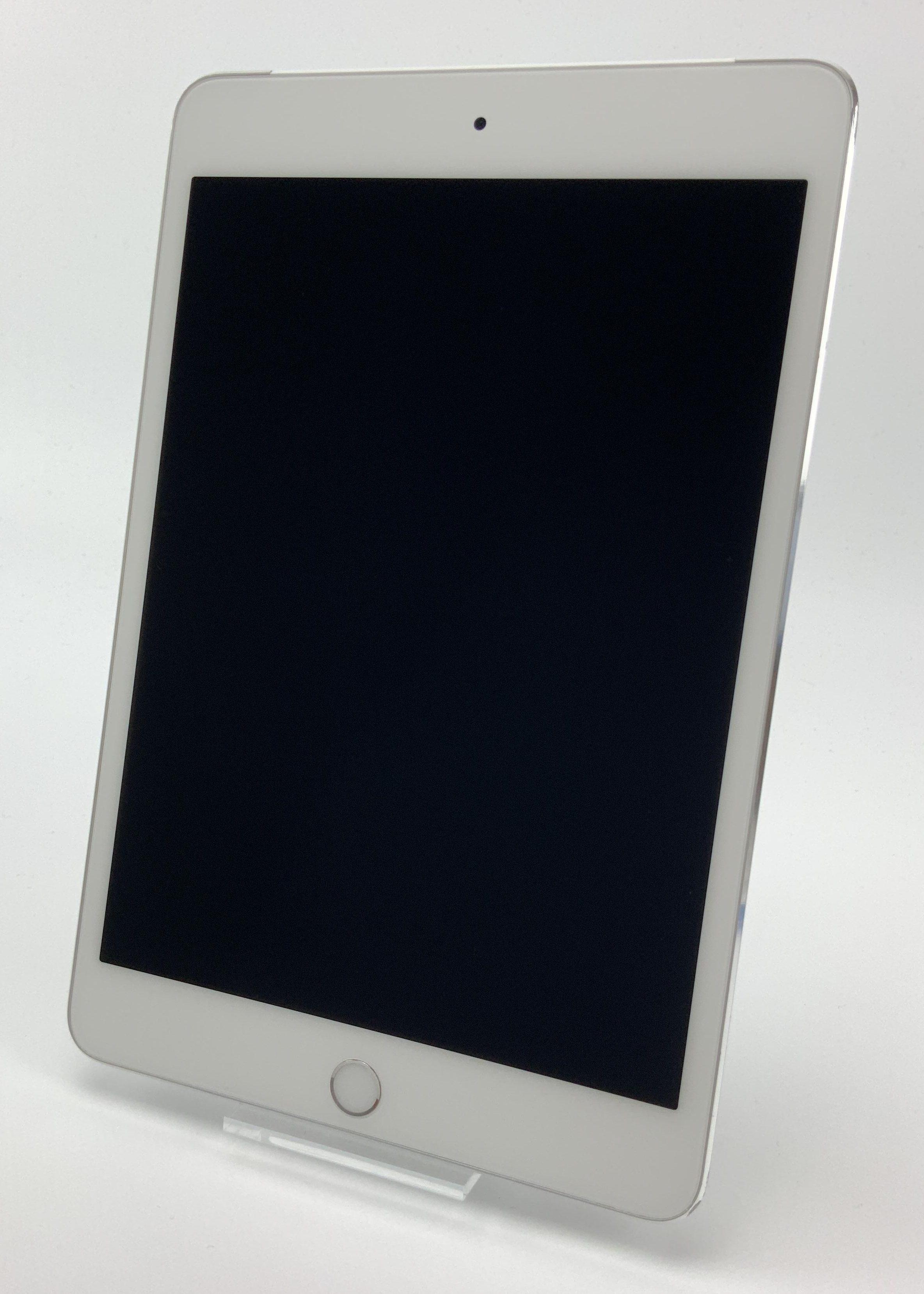 iPad mini 4 Wi-Fi + Cellular 128GB, 128GB, Silver, Bild 1