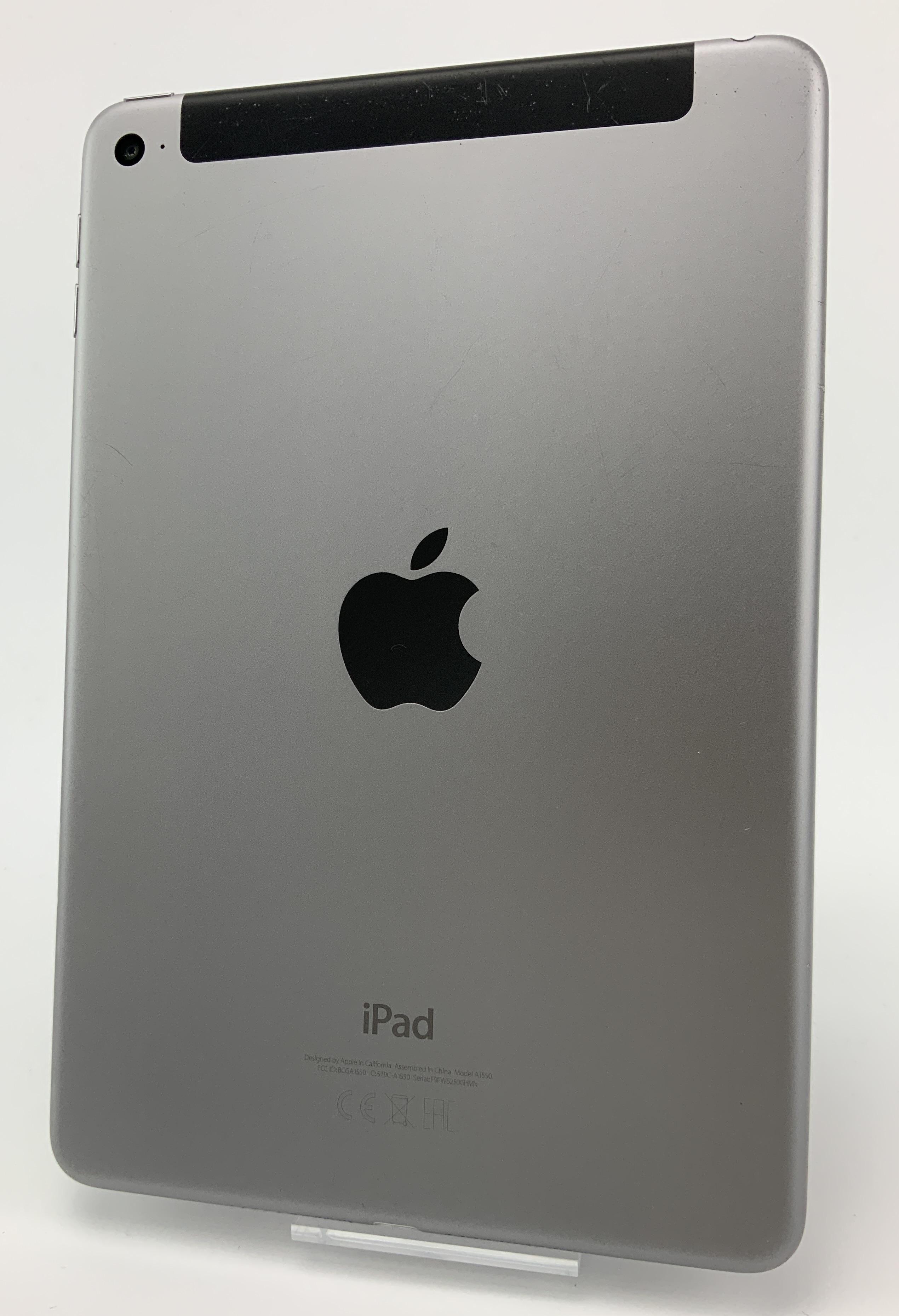 iPad mini 4 Wi-Fi + Cellular 128GB, 128GB, Space Gray, Kuva 2