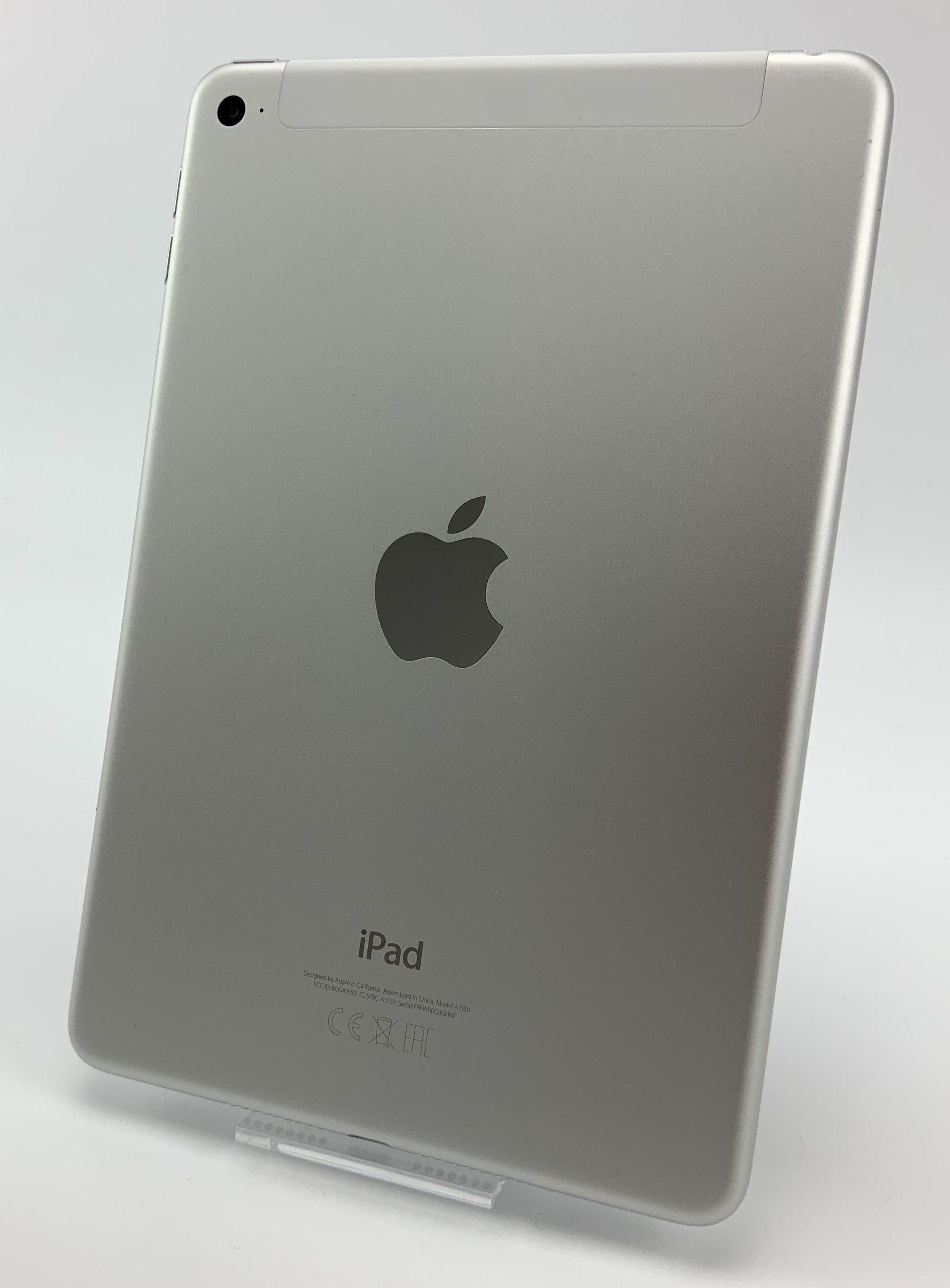 iPad mini 4 Wi-Fi + Cellular 128GB, 128GB, Silver, Bild 2